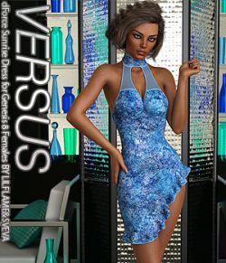 VERSUS - dForce Sunrise Dress for Genesis 8 Females