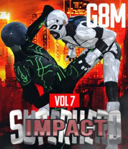 SuperHero Impact for G8M Volume 7