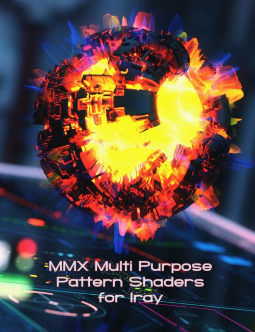 MMX Multi Purpose Pattern Shaders for Iray
