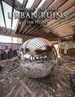 iRadiance Pro Series 16k HDRIs- Urban Ruins