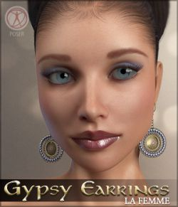 Gypsy Earrings La Femme Poser Figure