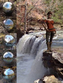 Orestes Iray HDRI Environments - Autumn Creek
