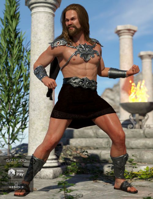 dForce Skyhaven Outfit for Genesis 8 Male(s)