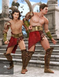 dForce Aries Outfit for Genesis 8 Male(s)