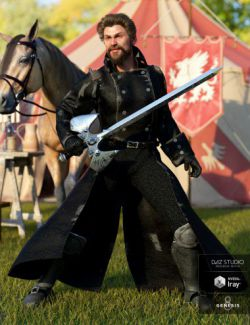dForce Adventurer Knight for Genesis 8 Male(s)