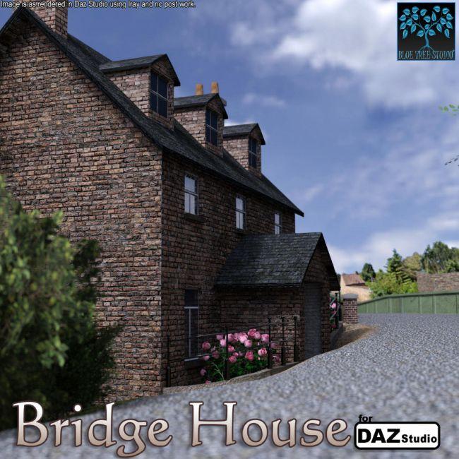 Bridge House for Daz Studio