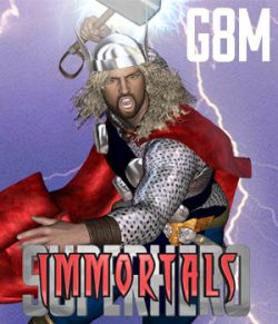 SuperHero Immortals for G8M Volume 1