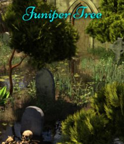 Juniper Tree Props And Mirrored Versions For Daz Studio Iray