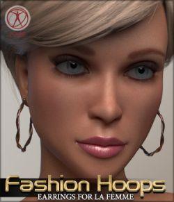 Fashion Hoops for La Femme Poser Figure