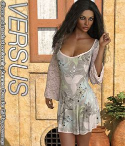 VERSUS - dForce and standard conforming Summer Dress for G8F