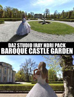 Baroque Castle Garden - Daz Studio Iray HDRI Pack