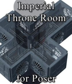 Imperial Throne Room (for Poser)