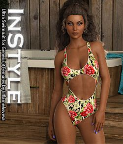 InStyle- Ultra Swimsuit for Genesis 8 Females