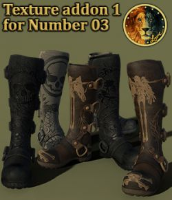Texture addon 1 for Number 03