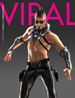 VIRAL Poses for Elios 8 and Genesis 8 Male