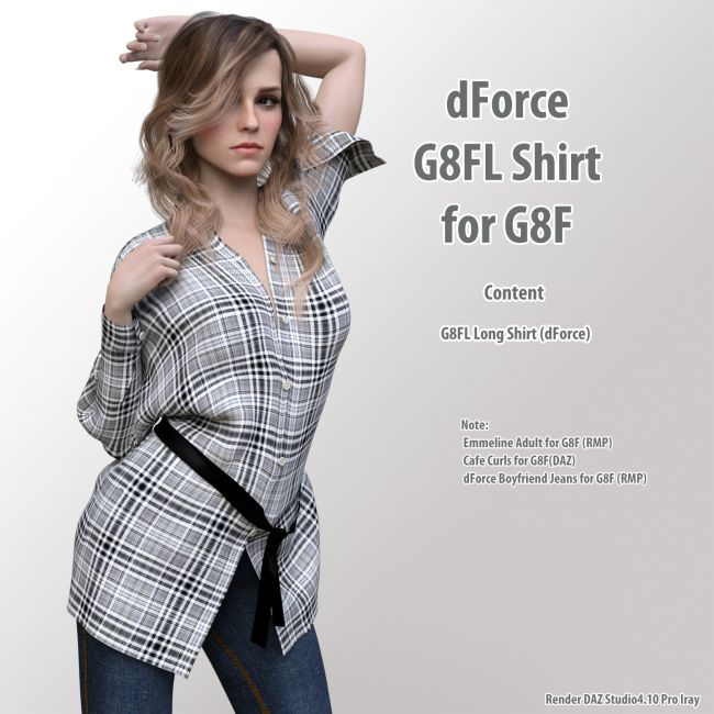 dForce G8FL Shirt for G8F