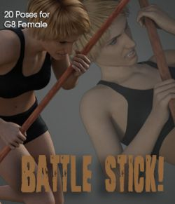 Battle Stick! for Genesis 8 Female