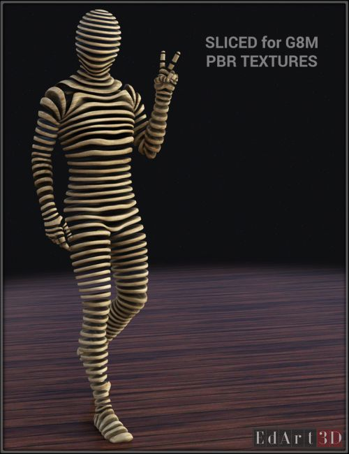 Sliced for G8M PBR Textures
