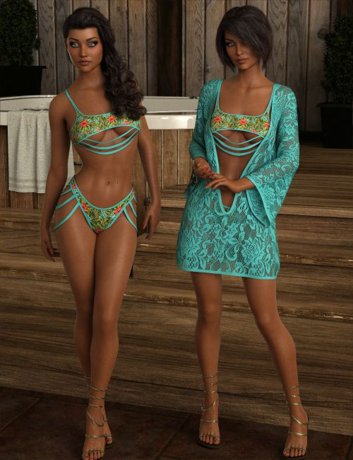 InStyle - dForce DiVaLiSious Swimsuit for Genesis 8 Females