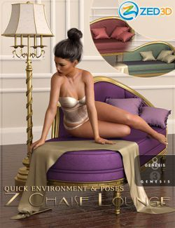 Z Chaise Lounge Quick Environment and Poses