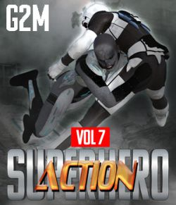 SuperHero Action for G2M Volume 7