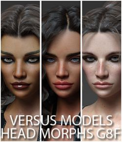 VERSUS MODELS - Head Morphs for G8F Vol1