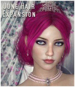 June Hair Expansion for DS/Poser