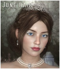 June Hair for G3 G8 and LaFemme/V4