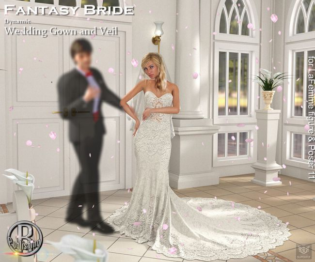 RP Dynamic Fantasy Bride for Poser