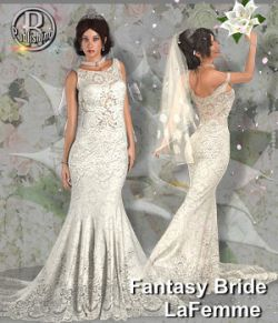 RP Dynamic Fantasy Bride for Poser