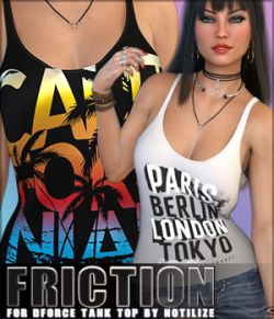Friction for dForce Tank Top G8F