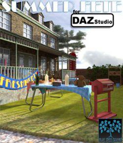 Summer Fete for Daz Studio