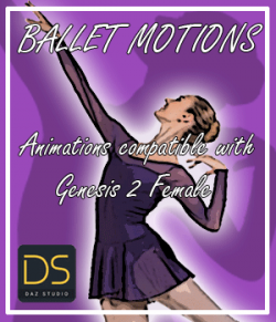Ballet Motions for G2F