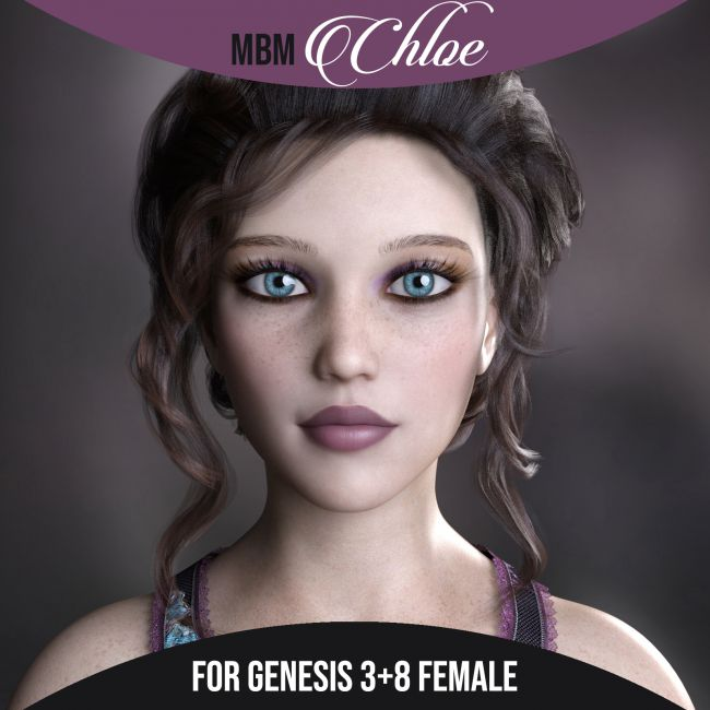 MbM Chloe for Genesis 3 & 8 Female