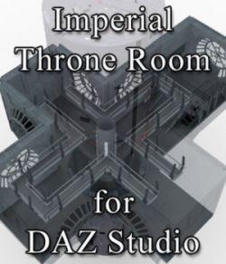 Imperial Throne Room for DAZ Studio