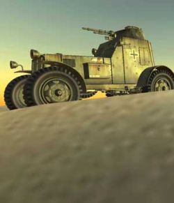 ARMOURED_CAR-World war II- Extended Licence
