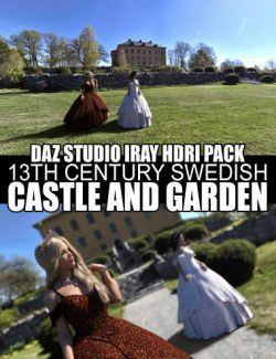 Swedish Castle And Garden - DAZ Studio Iray HDRI Pack