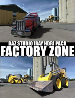 Factory Zone - DAZ Studio Iray HDRI Pack