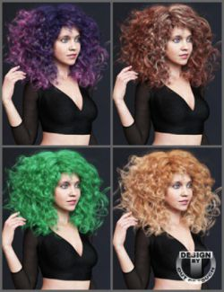 OOT Hairblending 2.0 Texture XPansion for Untamed Curls Hair