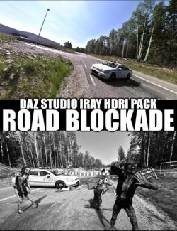 Road Blockade - Daz Studio Iray HDRI Pack