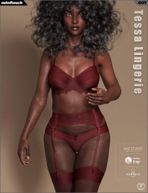 Tessa Lingerie for Genesis 8 Female(s)