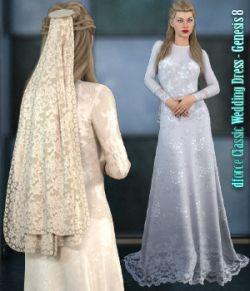 dforce- Classic Wedding Dress- Genesis 8