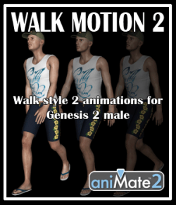 Walk Motion 2 for G2M