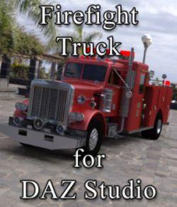 Firefight Truck for DAZ Studio