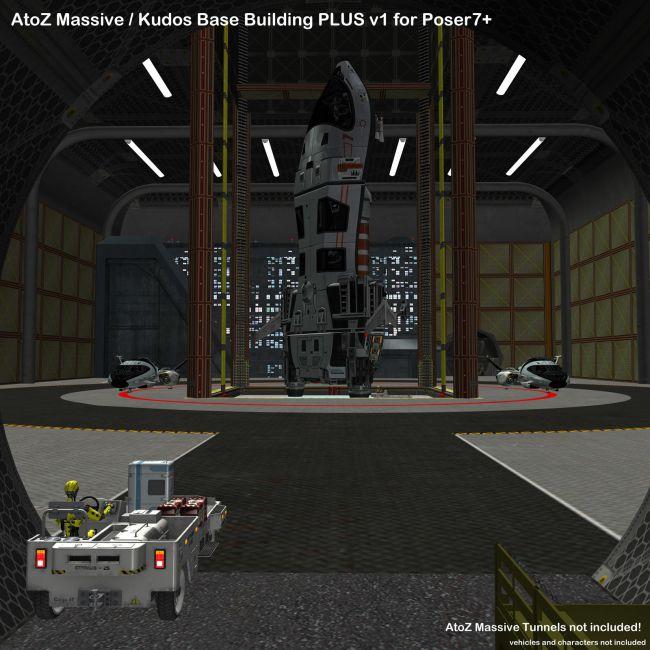 AtoZ Kudos Base-n-Elevator I v1 Poser