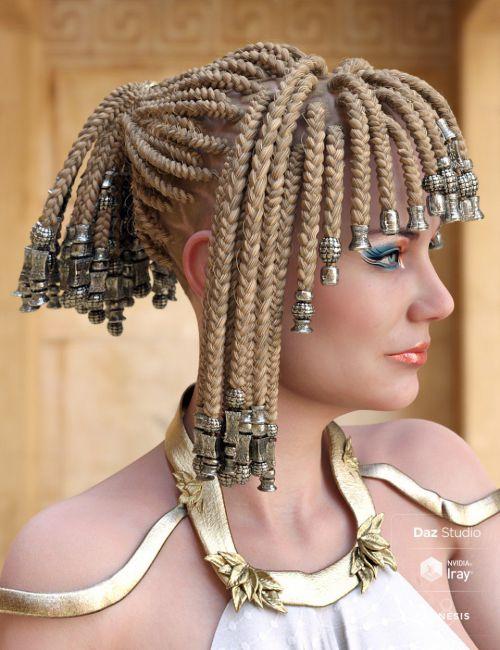 Goddess Braids For Genesis 3 And 8 Females