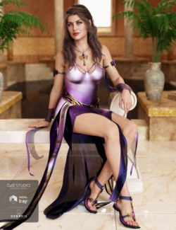 dForce Harmonia Outfit for Genesis 8 Female(s)