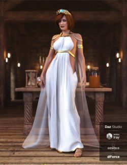 dForce Summer Muse Outfit for Genesis 8 Female(s)