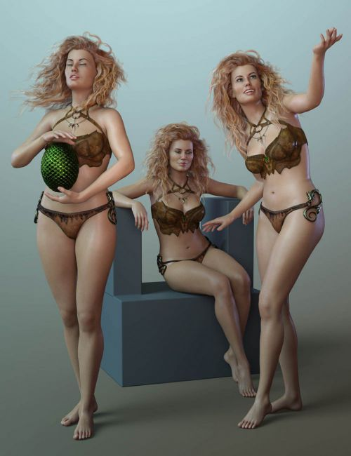 CDI Poses and Expressions for Ellithia 8 and Genesis 8 Female