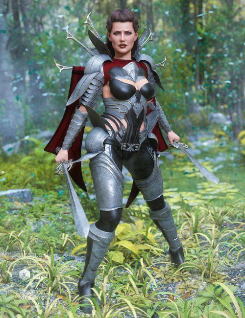 Iron Warrior for Genesis 8 Female(s)